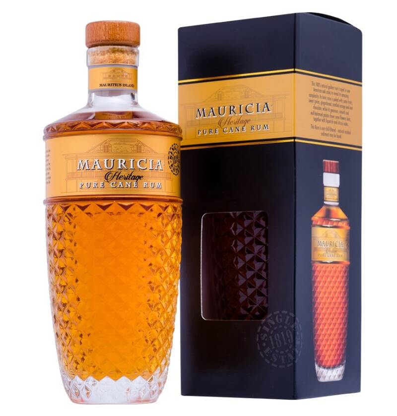 New Grove Mauricia Heritage Pure Cane Rum