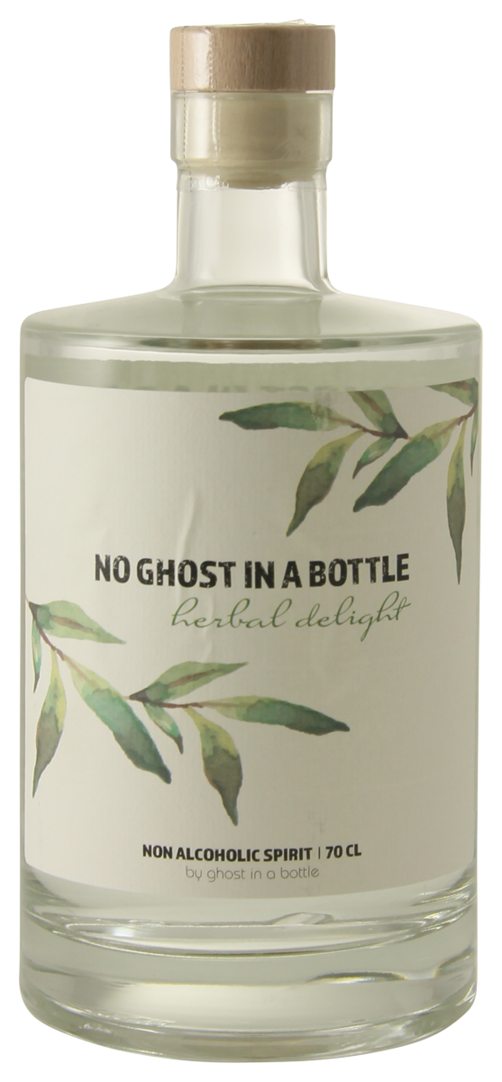 No Ghost in a Bottle Herbal Delight Alcoholvrije Gin
