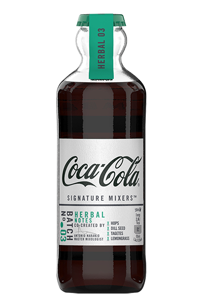 Coca Cola Signature Mixers Herbal Notes