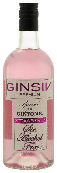 Ginsin Strawberry Alcoholvrije Gin