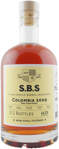 1423 S.B.S Colombia 2009 Rum