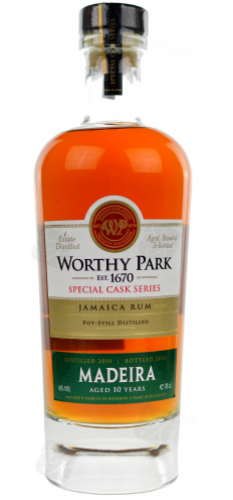 Worthy Park Special Cask Series Madeira 2010 Rum