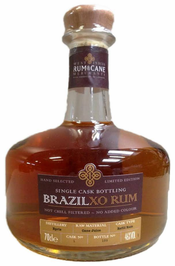 West Indies Rum & Cane Merchants Brasil XO Rum