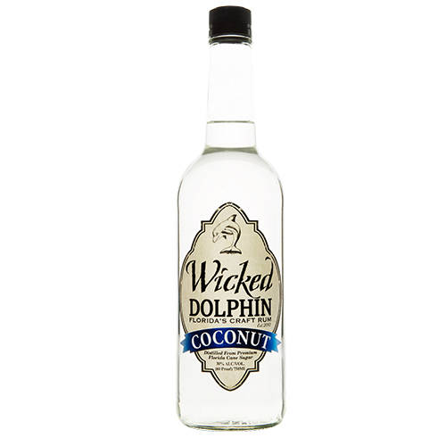 Wicked Dolphin Coconut Rum
