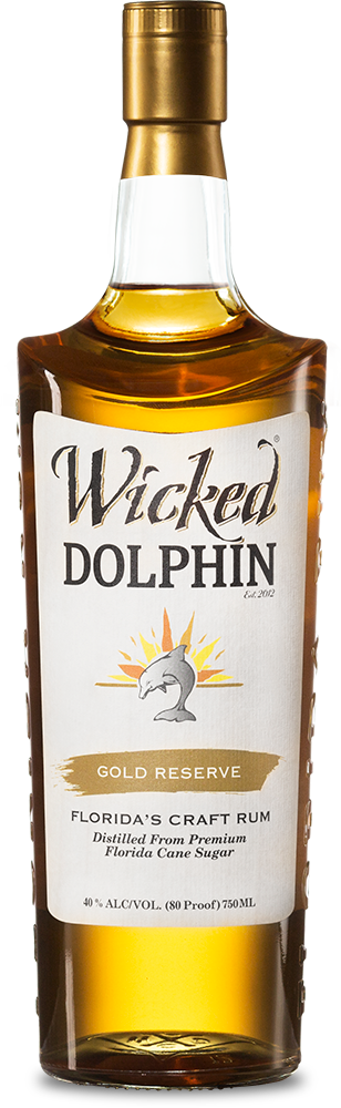 Wicked Dolphin Reserve Gold Rum