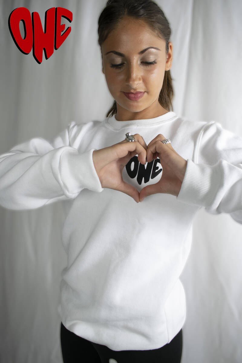 Official first edition One Love sweater wit