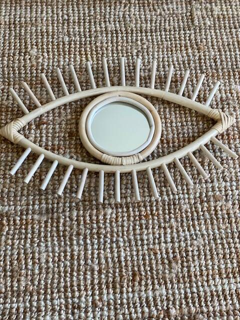 Rotan spiegel Eye See You