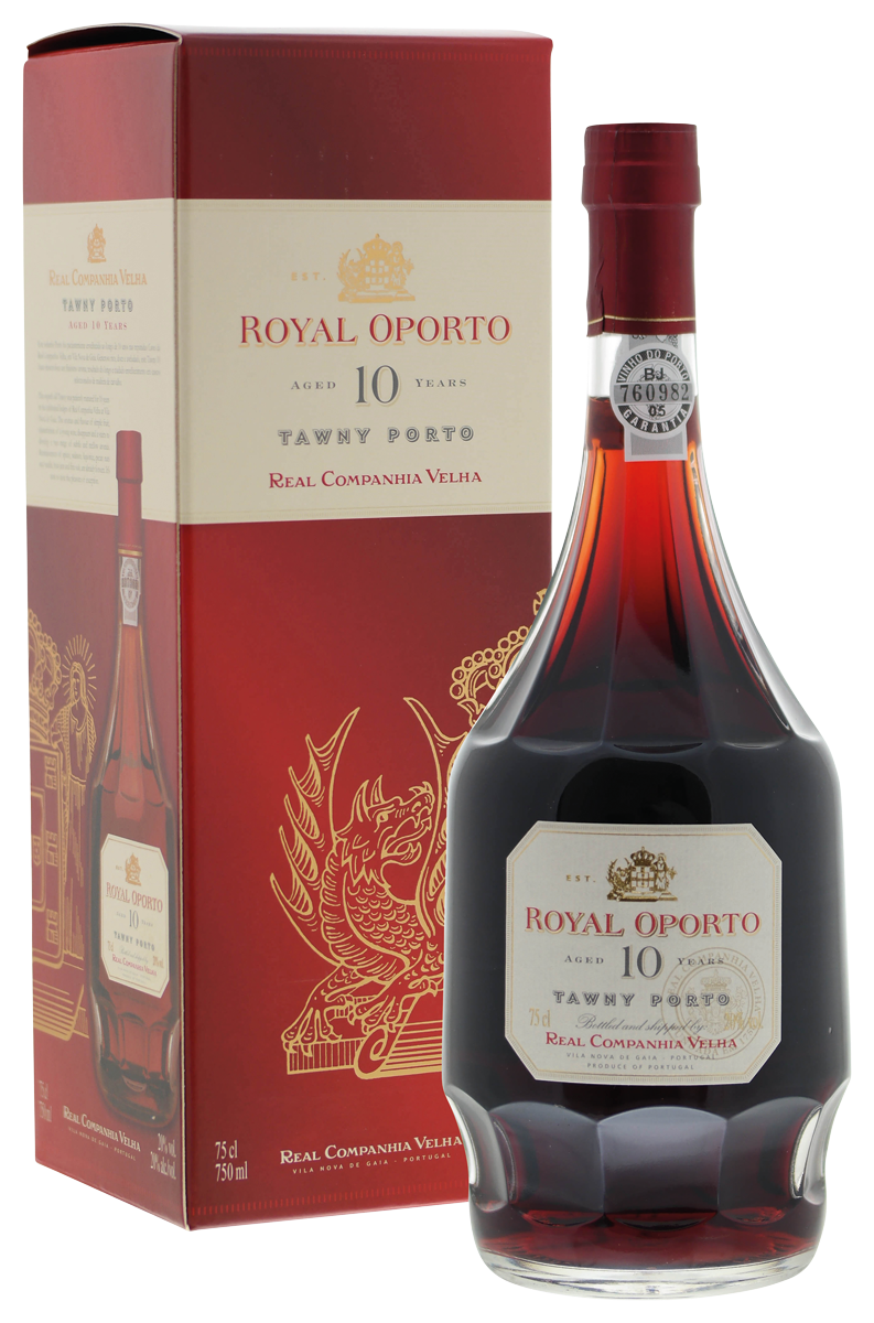 Royal Oporto 10 years old tawny (in doos)
