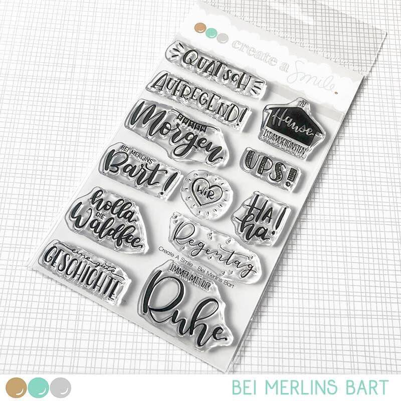 Create A Smile Stempel - Bei Merlins Bart
