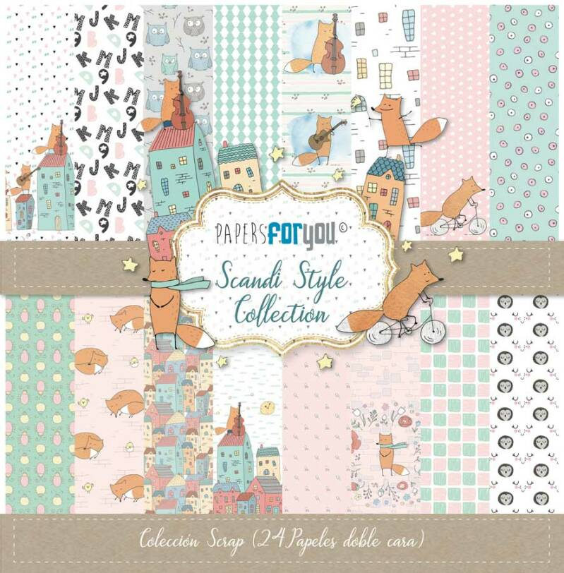 Papers For You Motivpapier - Scandi Style (PFY-3040)