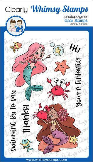 Whimsy Stamps Stempel - Fintastic (KHB129a)