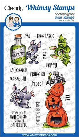 Whimsy Stamps Stempel - Going Batty (DP1020)