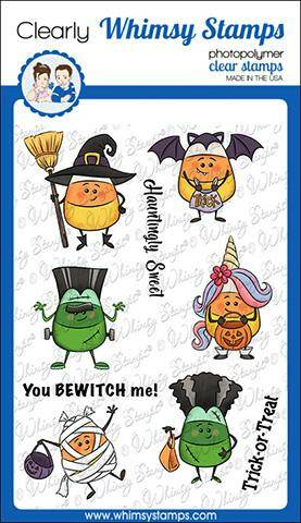 Whimsy Stamps Stempel - Candy Corn Dress Up (KHB134)