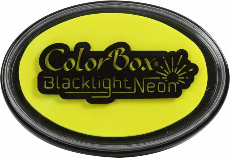 Clearsnap ColorBox Stempelkissen - Blacklight Neon Sunny