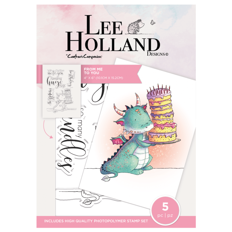 """Crafter's Companion Lee Holland """"From Me to You"""" (LH-STP-FMTY)"""