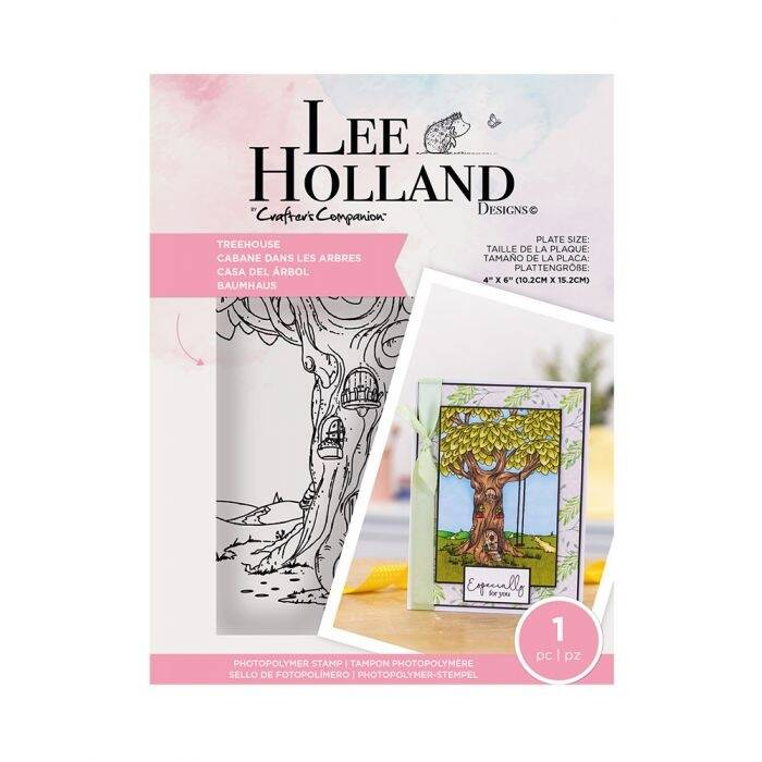 """Crafter's Companion Lee Holland """"Treehouse"""" (LH-STP-TREEH)"""