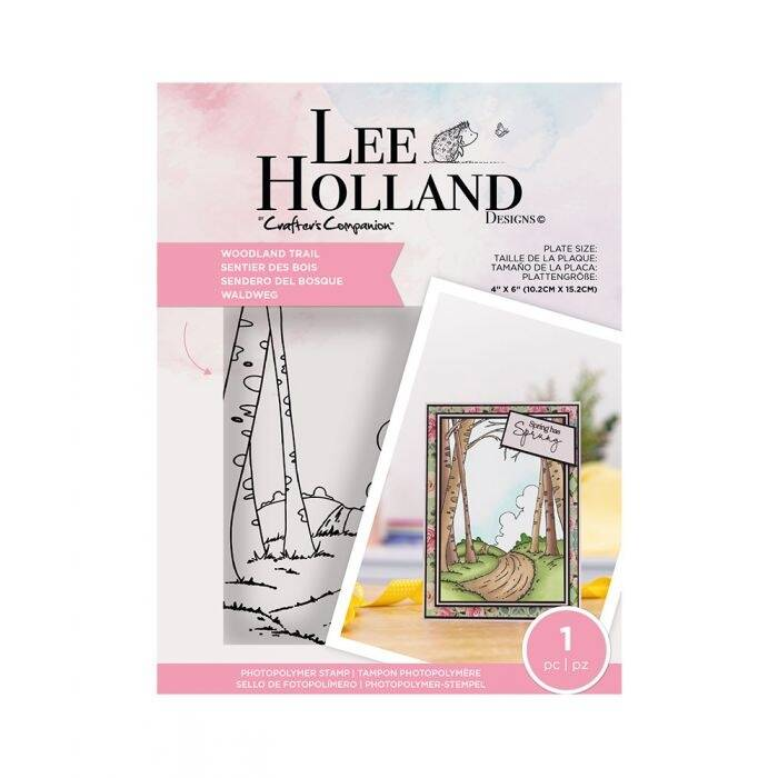"""Crafter's Companion Lee Holland """"Woodland Trail"""" (LH-STP-WOODT)"""