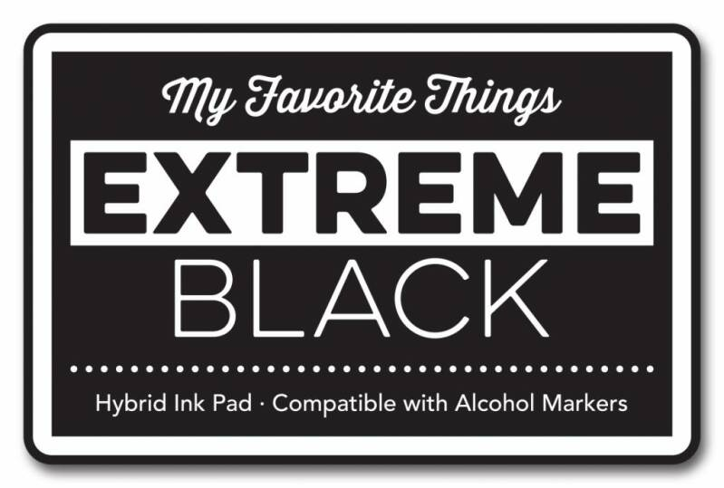 My Favorite Things Extreme Black Hybrid Stempelkissen (HPAD_81)