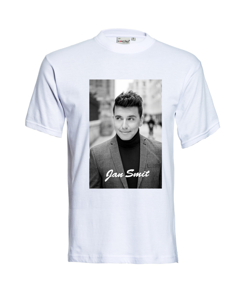 T-shirt Jan Smit met foto