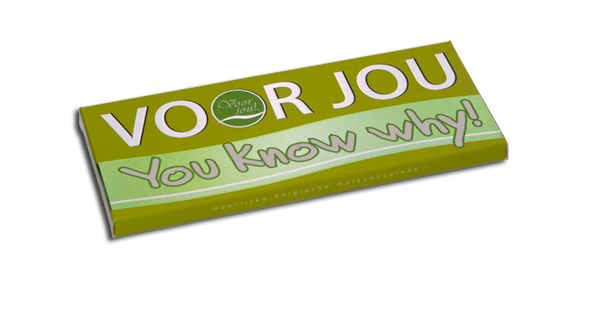 Voor jou: You know why!