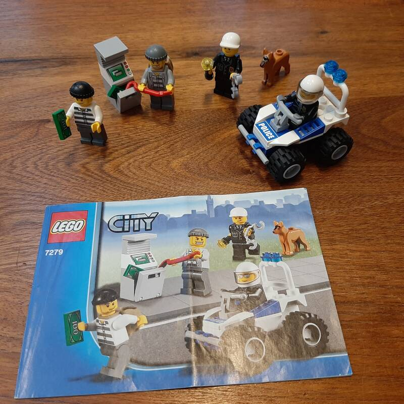 [7279]-1i Police Minifigure Collection
