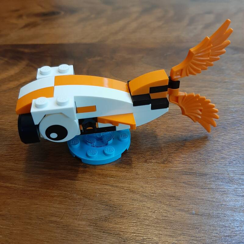 [40397] Monthly Mini Model Build Set - 2020 03 March, Fish polybag