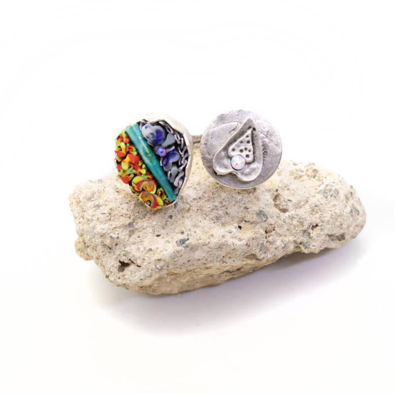 Prachtige dubbele ring - Beautiful double ring