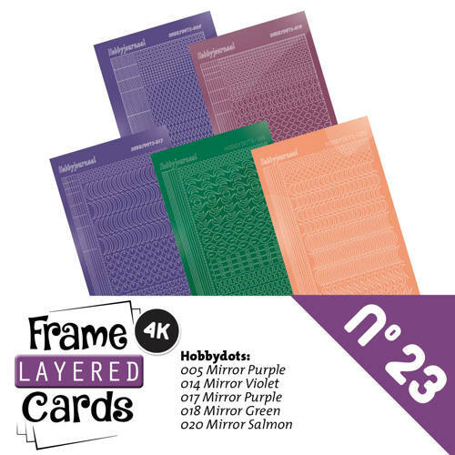 Stickerset Frame Layered Cards