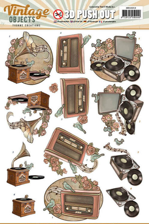 Vintage Objects - Yvonne Creations