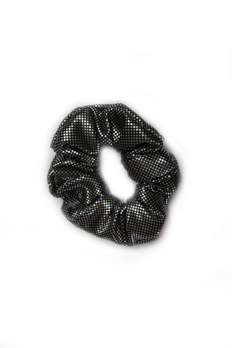 Scrunchie | Metallic Polkadots