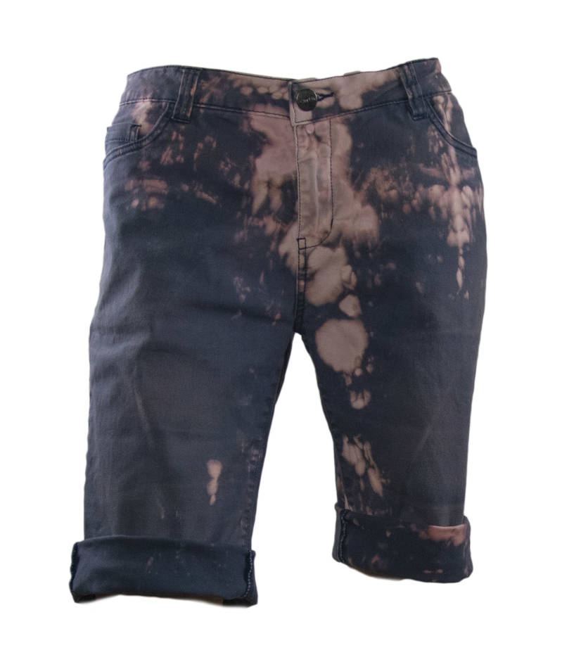 Splatter print shorts | Stephastique Uniques