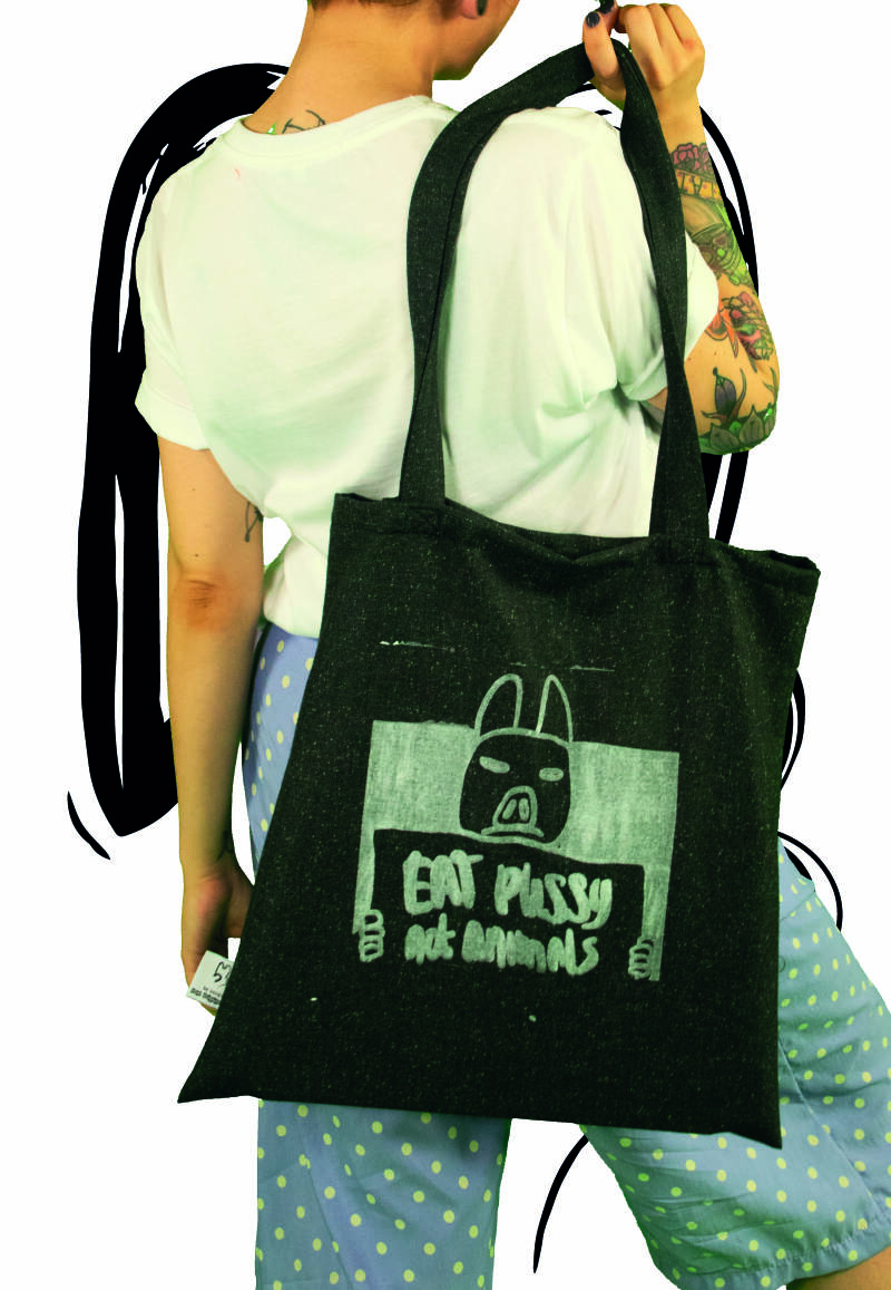 Bag | Eat pussy not animals