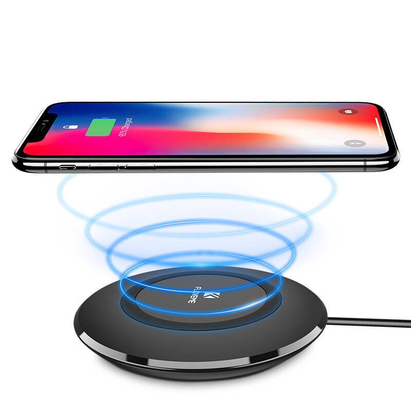 Wireless Charging Dock FLOVEME LED Path Light Qi Wireless Charger, Bestseller!