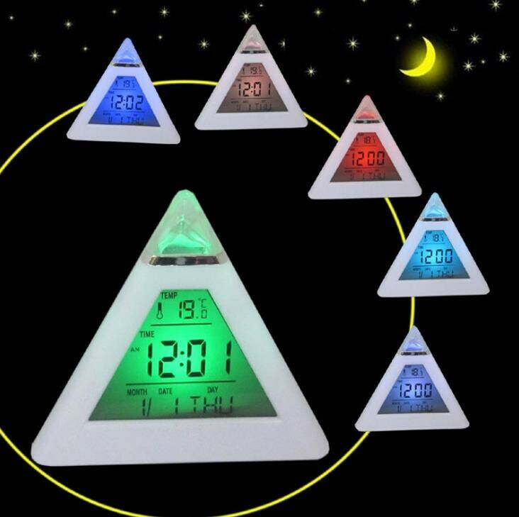 Pyramid Digital LCD Alarm meditation, kitchen, bedroom