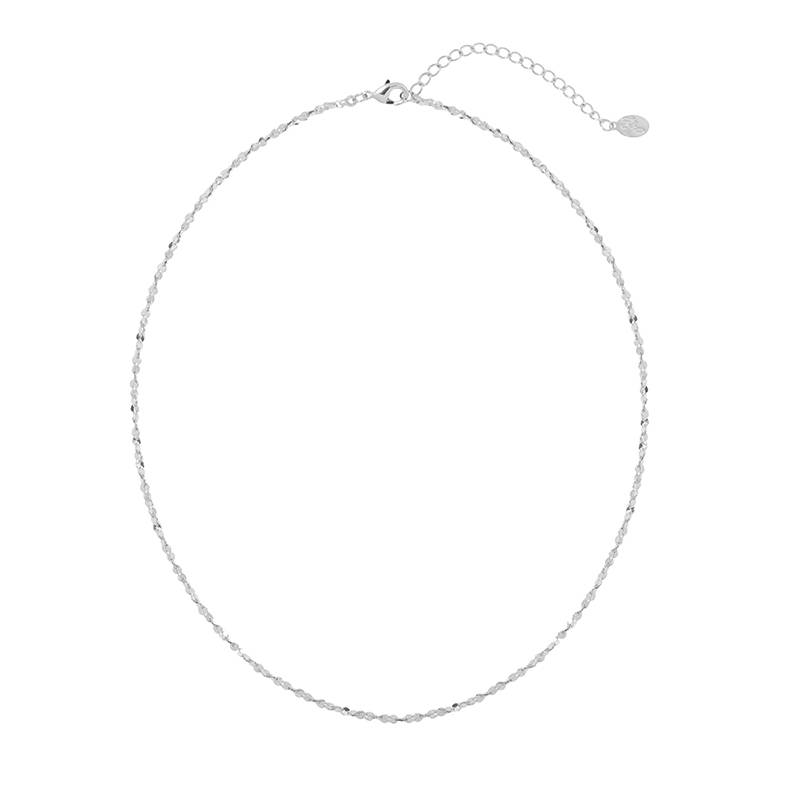 Necklace Sweet line silver