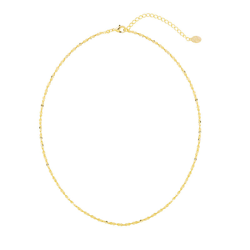 Necklace Sweet line gold
