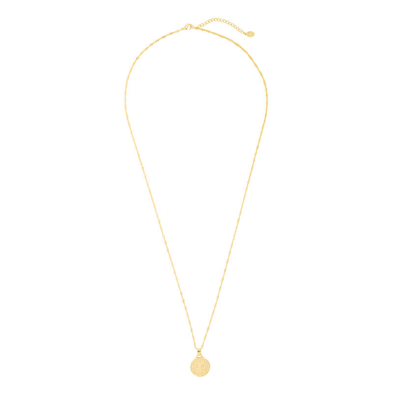 Necklace The traveler long gold