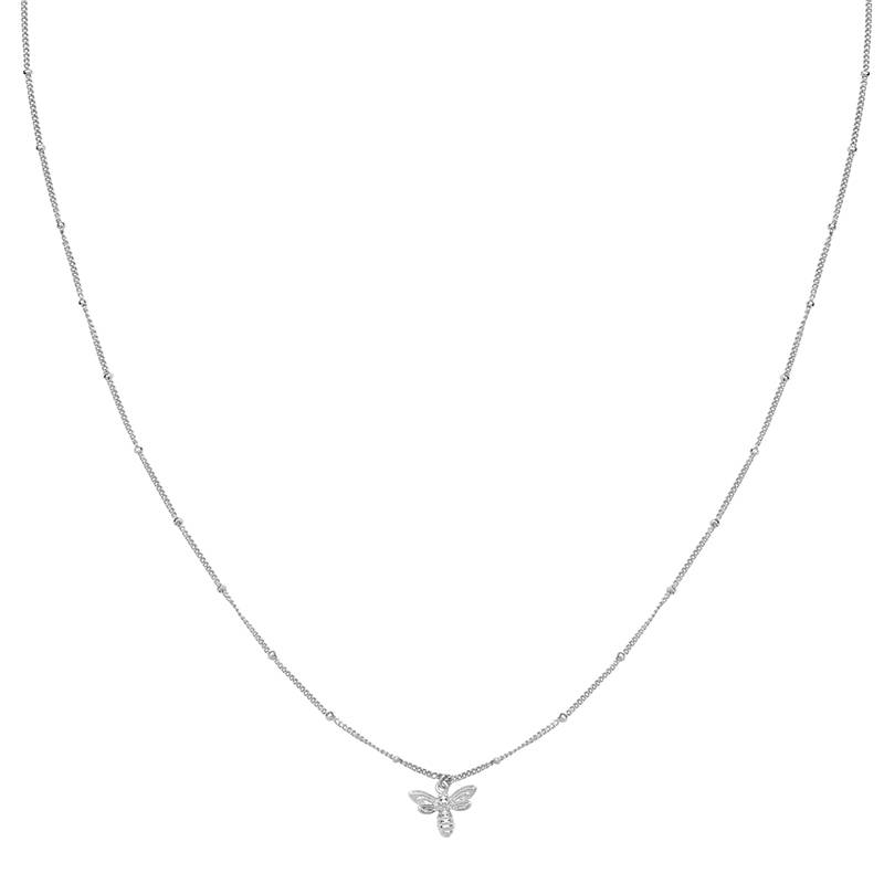 Necklace Beautiful Bee silver
