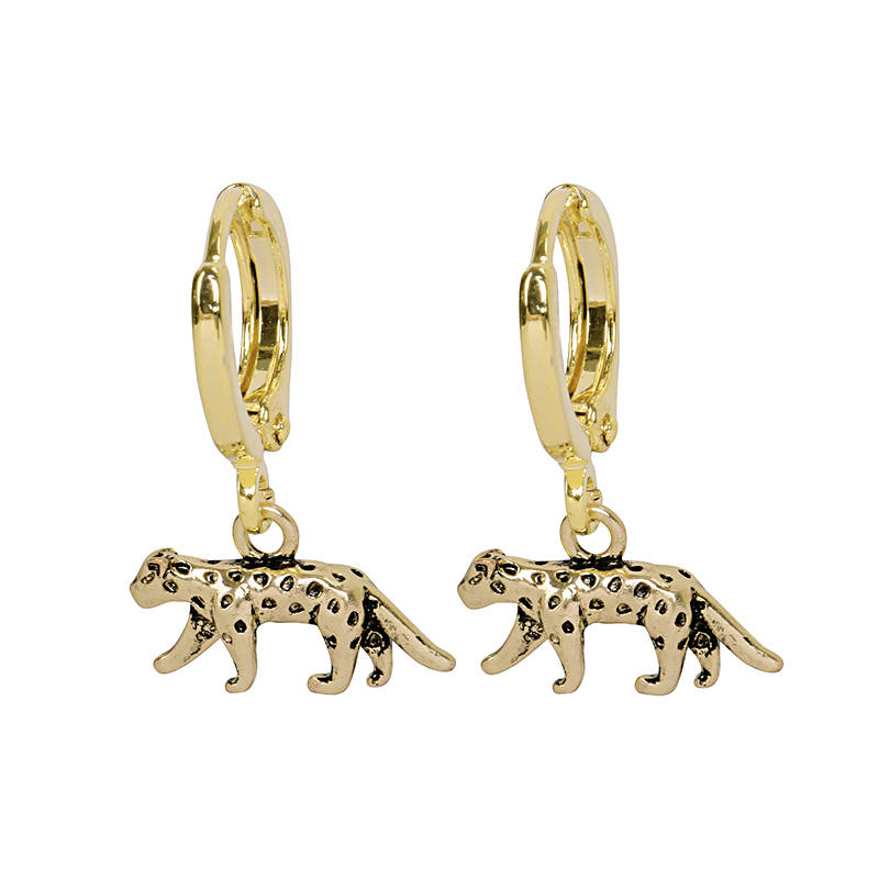 Earrings Lucky Leopard gold