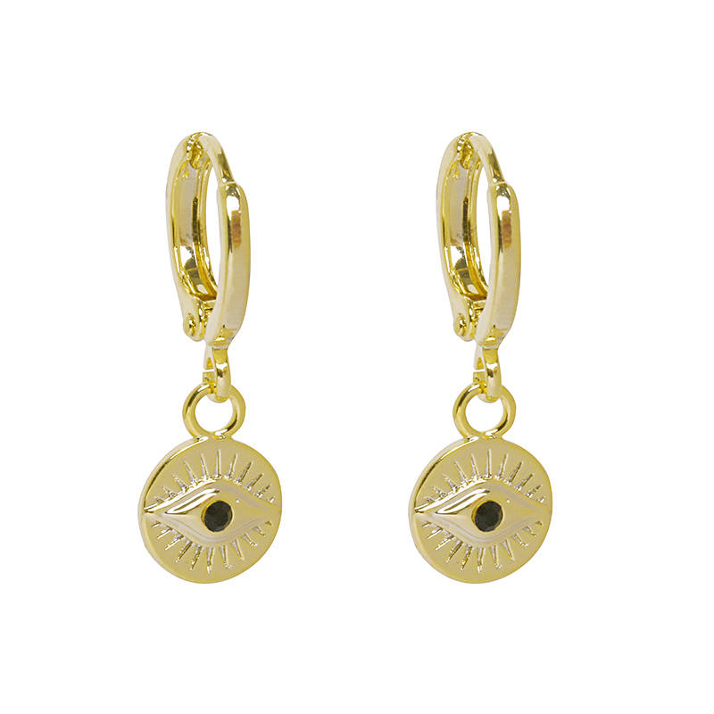 Earrings Curious eyes gold