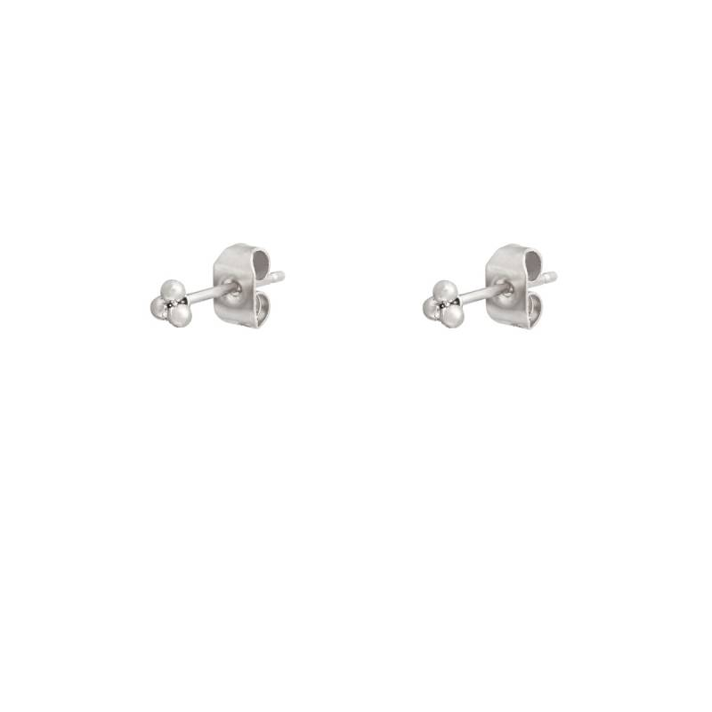 Earrings Tiny Dot silver