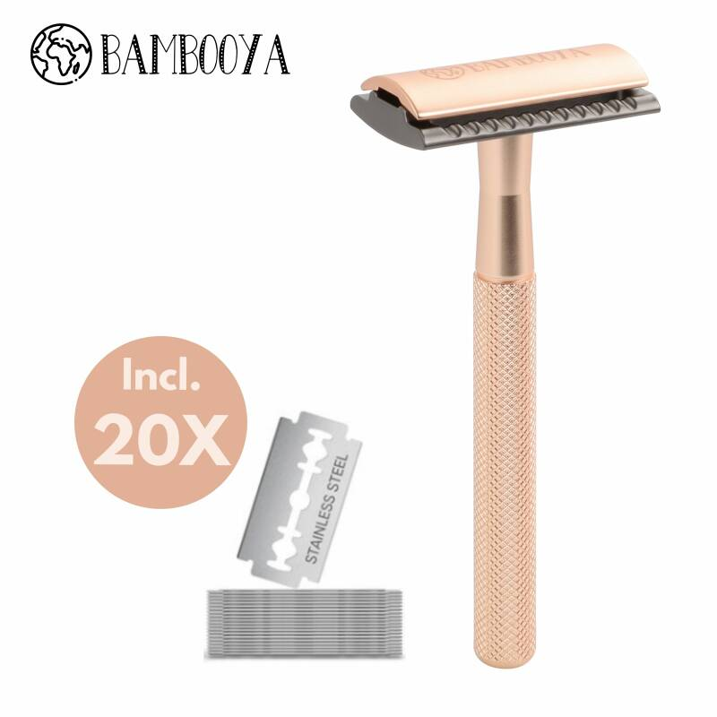 Safety razor - gold & black