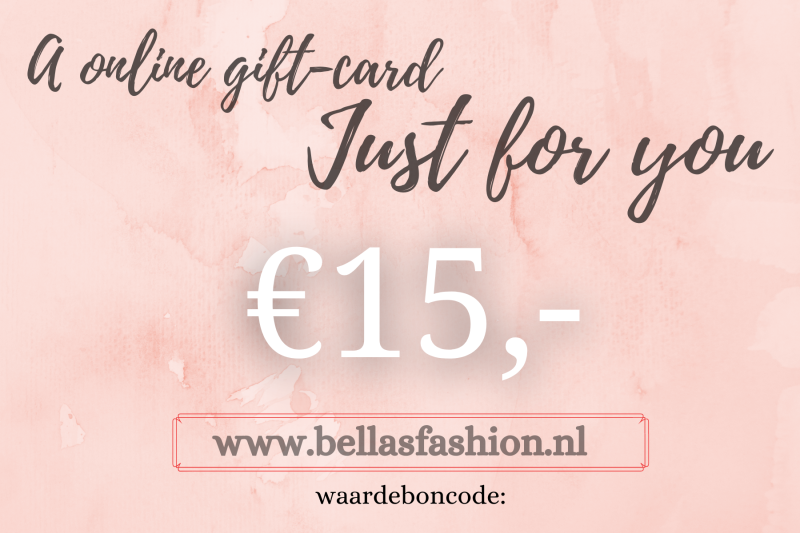 ONLINE GIFTCARD €15,-