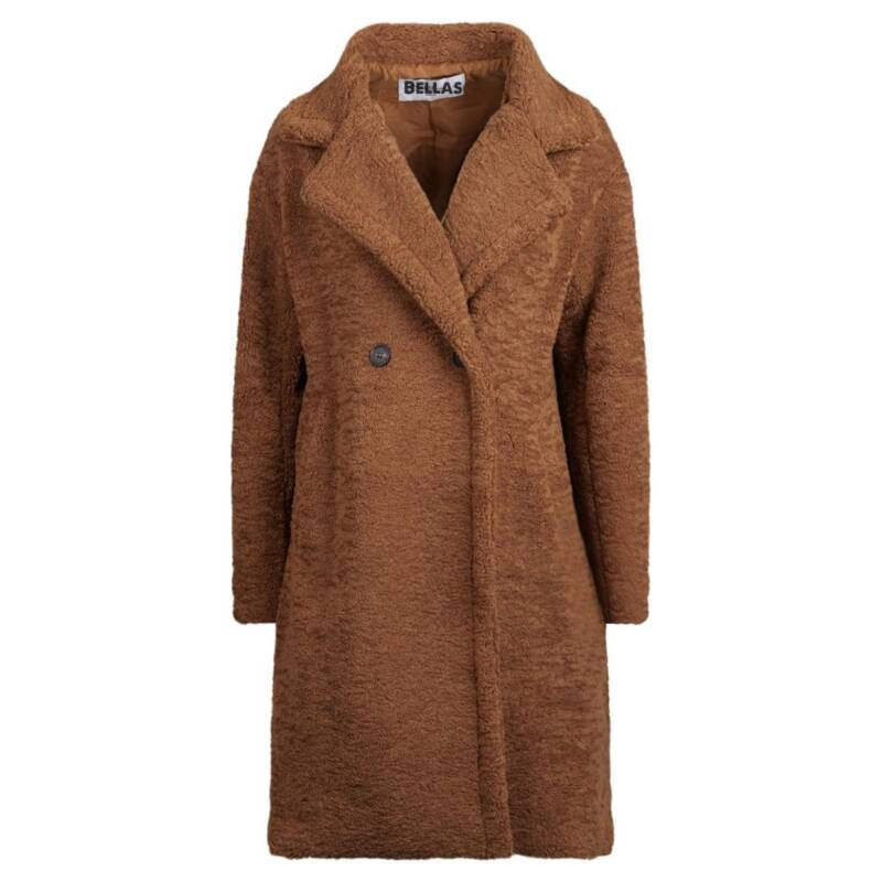 Teddy coat Roest