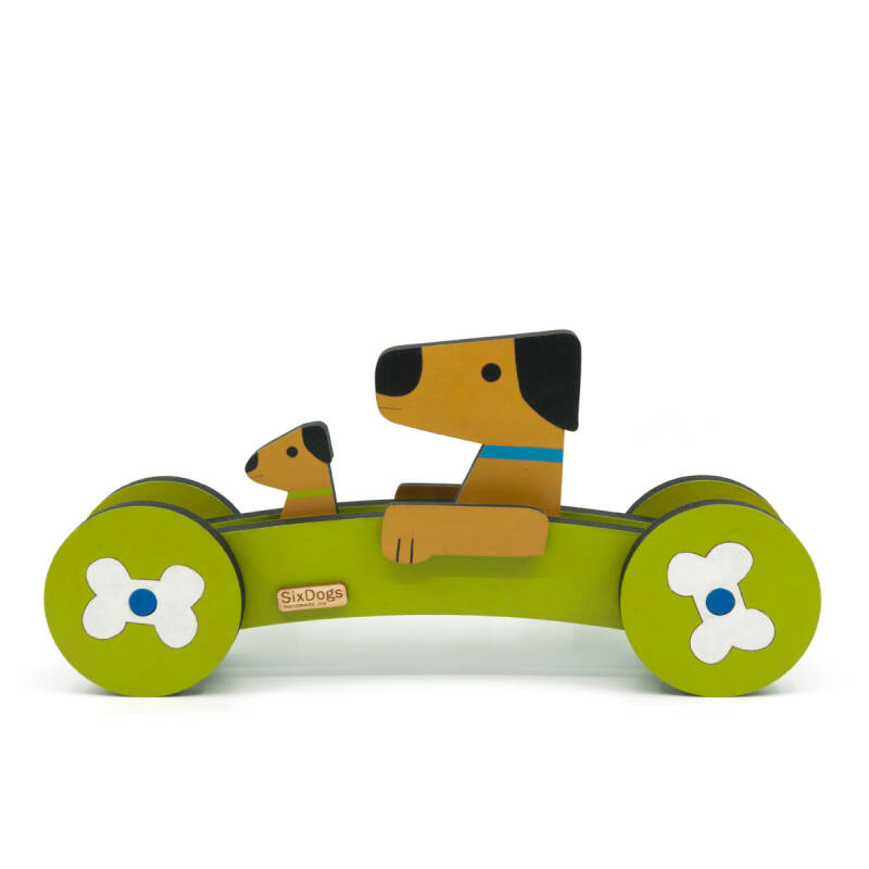 XL Dogs First-Car Olijf