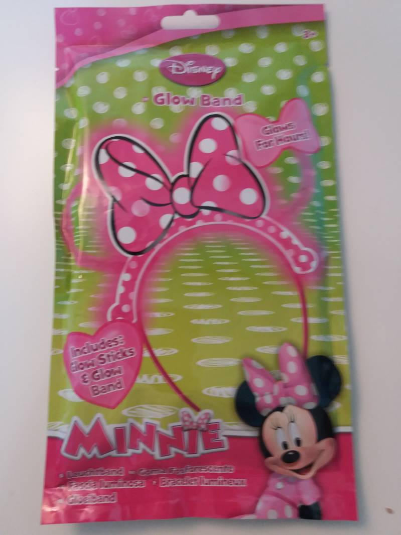 Minnie Mouse glow in the dark haarband