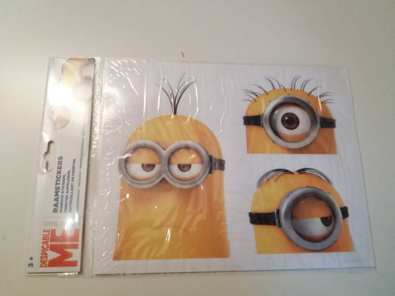 Minion raamstickers