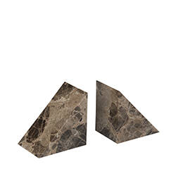 Marble bookend set of 2