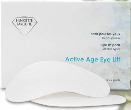 Active age eyelift pads