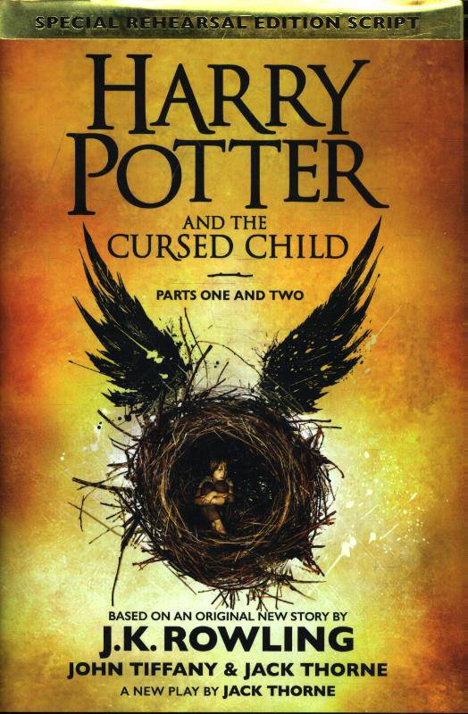 Harry Potter and the cursed child J.K. Rowling